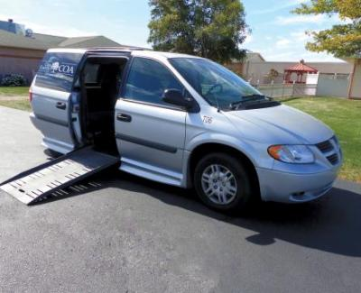 handicap accessible van